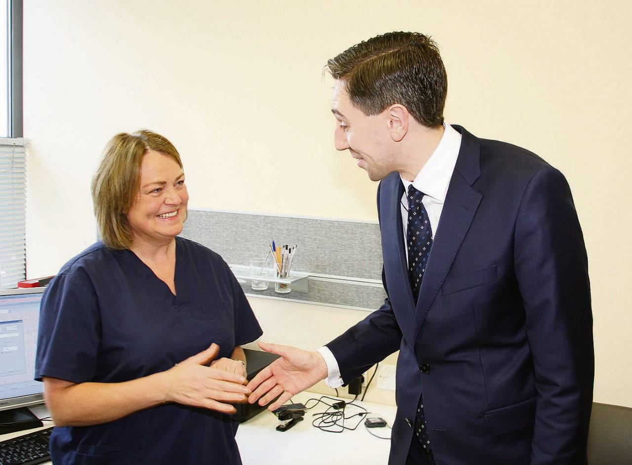 Minister Harris Visit 2